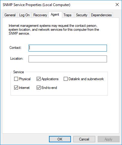 نصب SNMP